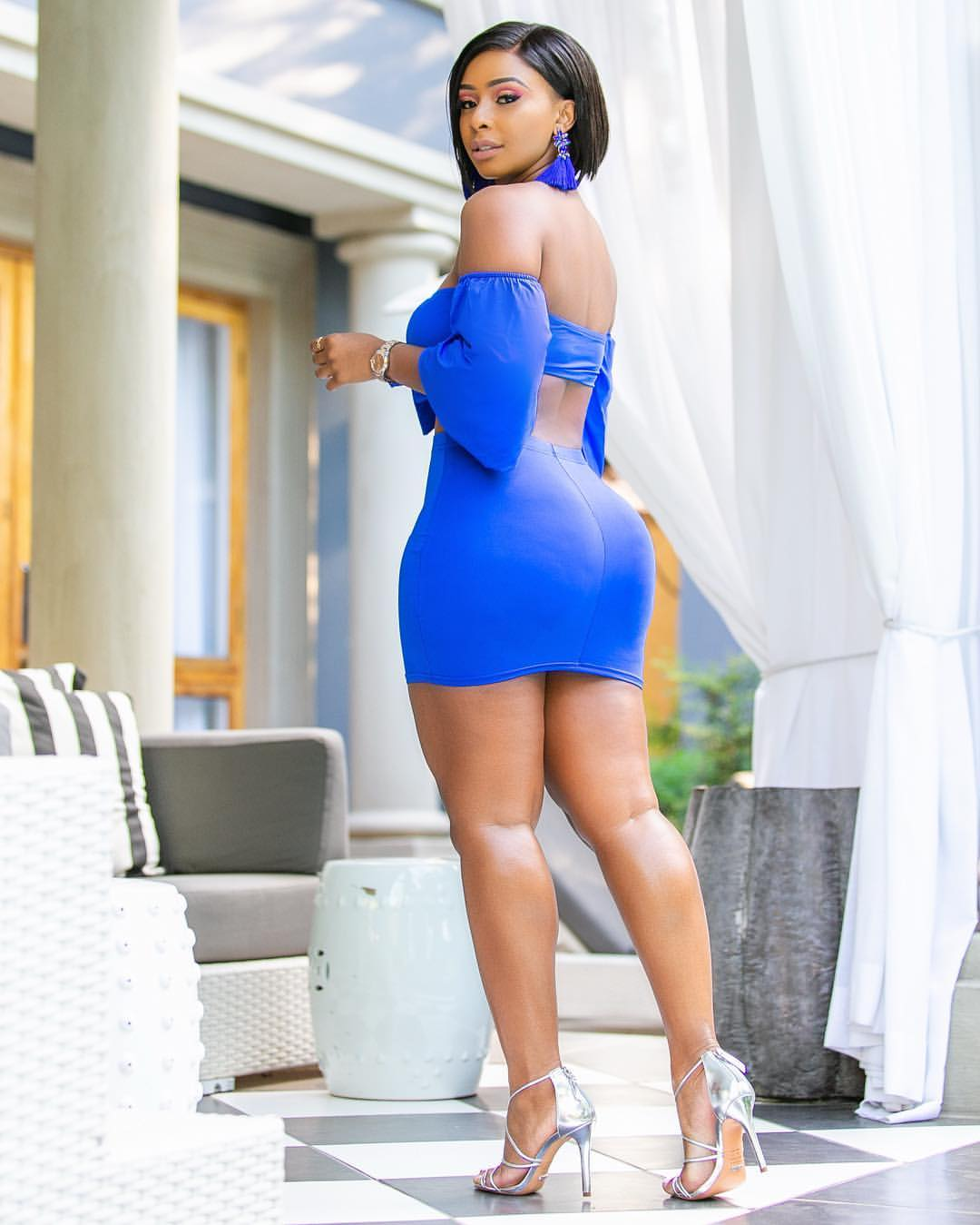 Boity Shows Off Her Massive Behind