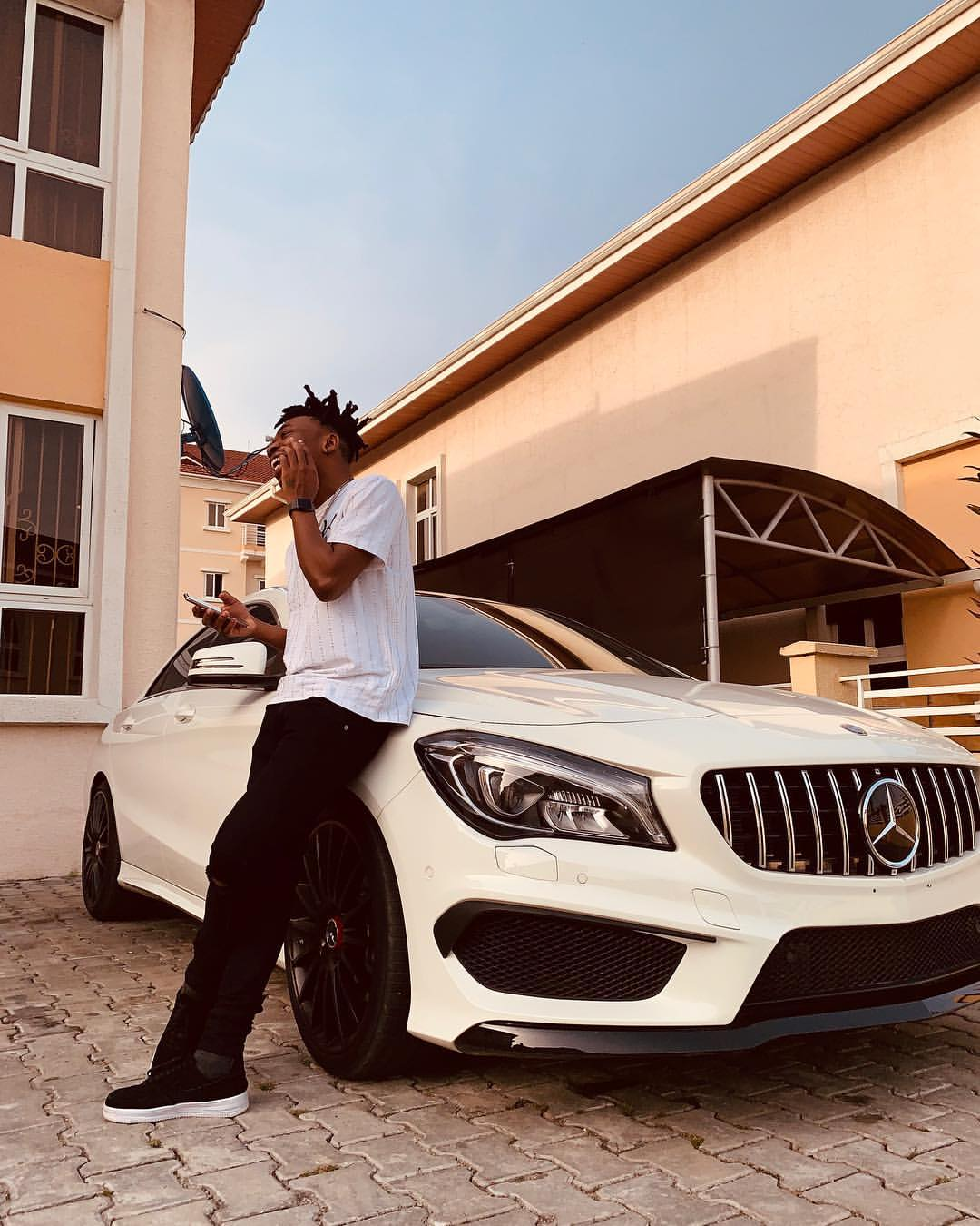 Mayorkun Buys Brand New Mercedes-Benz Ahead Of His 25th Birthday (3)