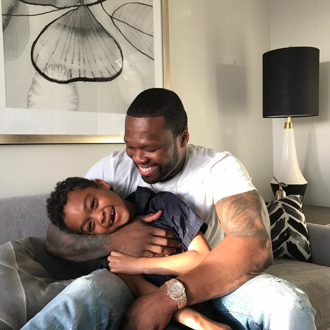 50 Cent Shares Unforgettable Father And Son Bonding Moments (5)