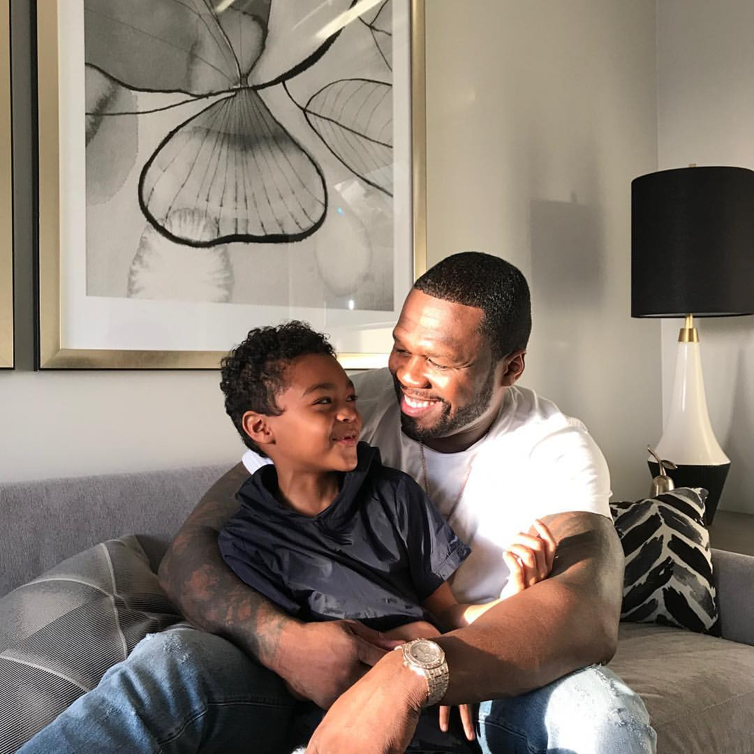 50 Cent Shares Unforgettable Father And Son Bonding Moments (6)