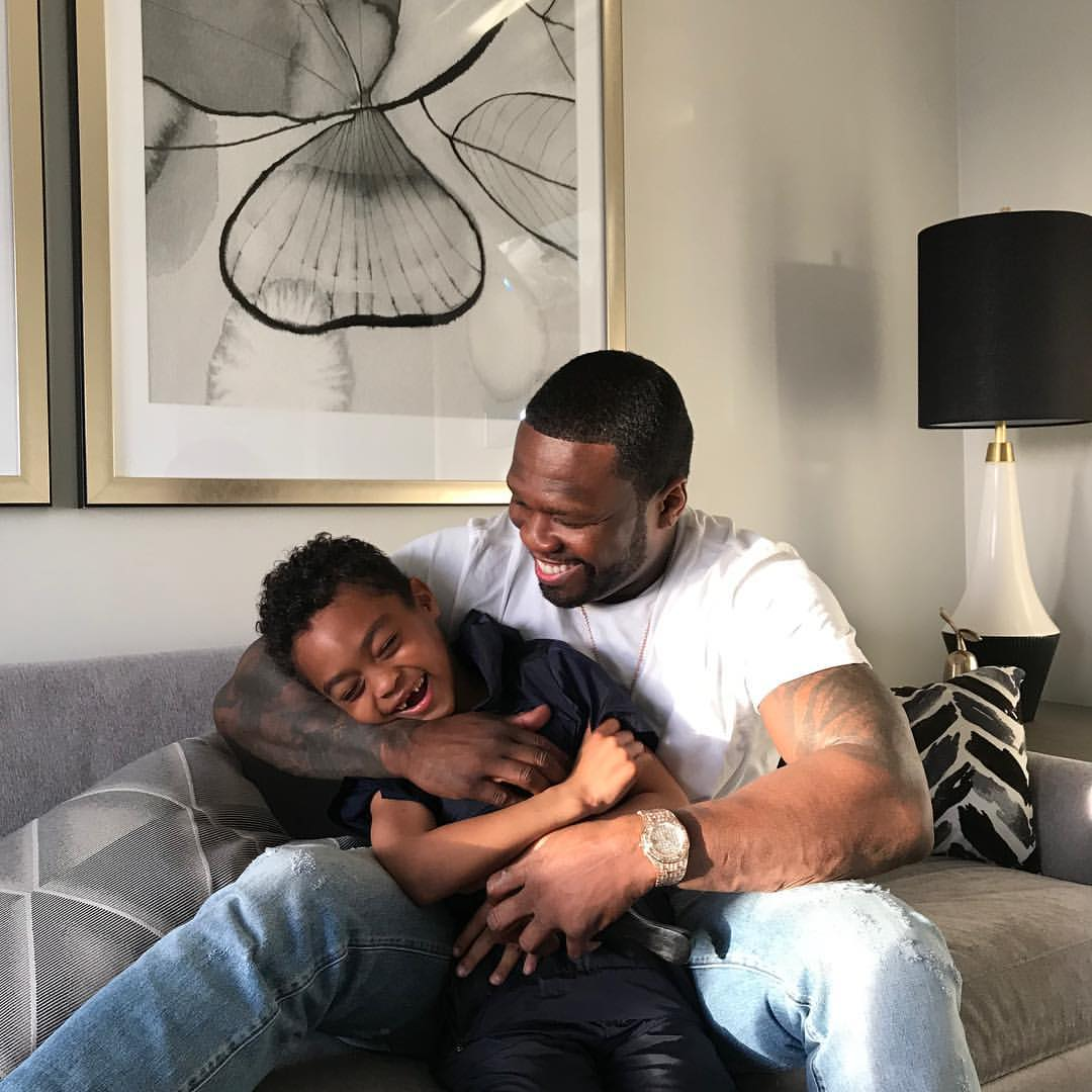 50 Cent Shares Unforgettable Father And Son Bonding Moments (4)