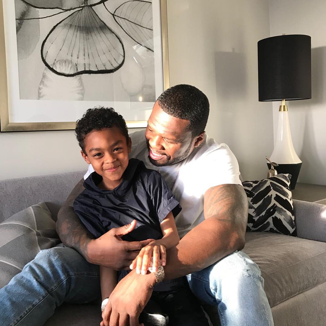 50 Cent Shares Unforgettable Father And Son Bonding Moments (2)