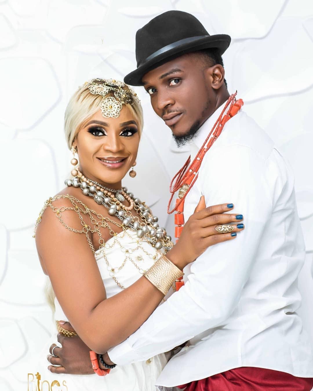 Uche Ogbodo Stunns As An Ishekiri Inspired Bride (5)