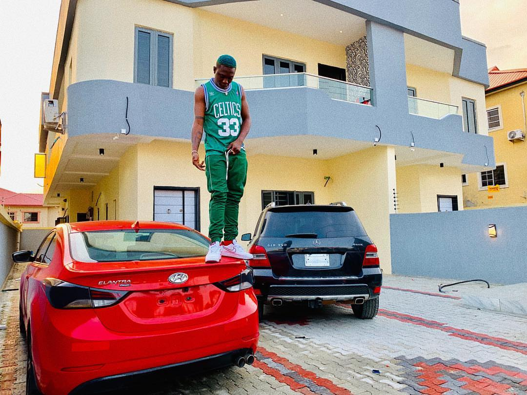 Zlatan Ibile Buys Himself Two New Cars And A House (2)