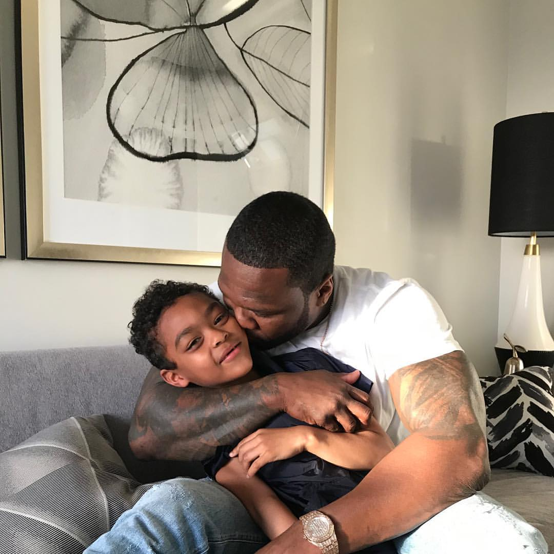50 Cent Shares Unforgettable Father And Son Bonding Moments (3)