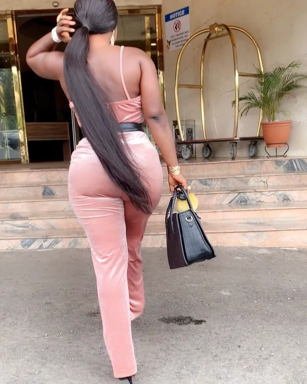 Destiny Etiko Shows Off Curves In Jumpsuit (2)