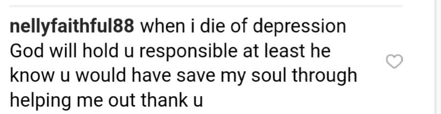 BBNaija Star Khloe Replied Depressed Instagram Beggar (2)