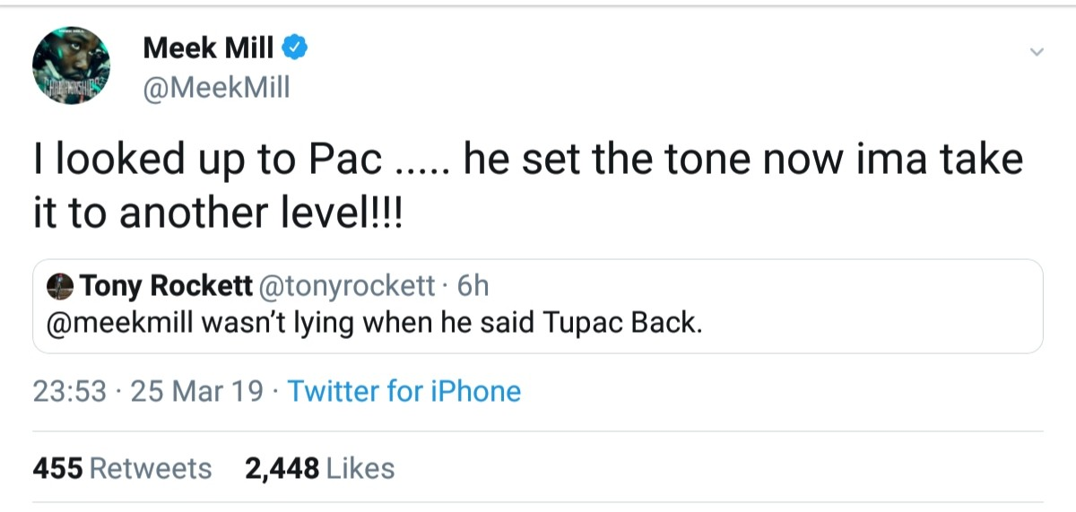 Meek Mill Wants To Take It To Another Level From Pac (2)