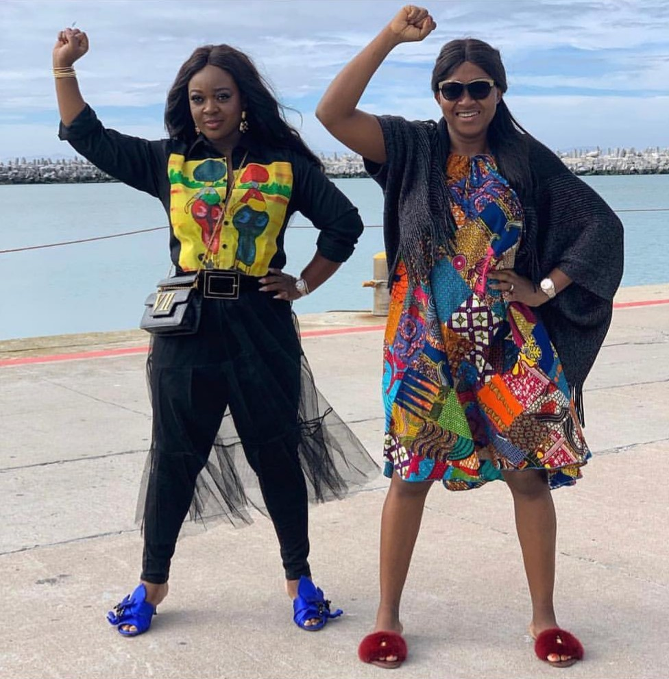 Jackie Appiah And Mary Remmy Njoku Robben Island