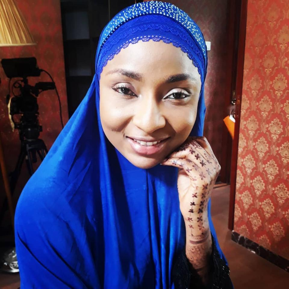 Belinda Effah Muslim Lady In Haram The Movie