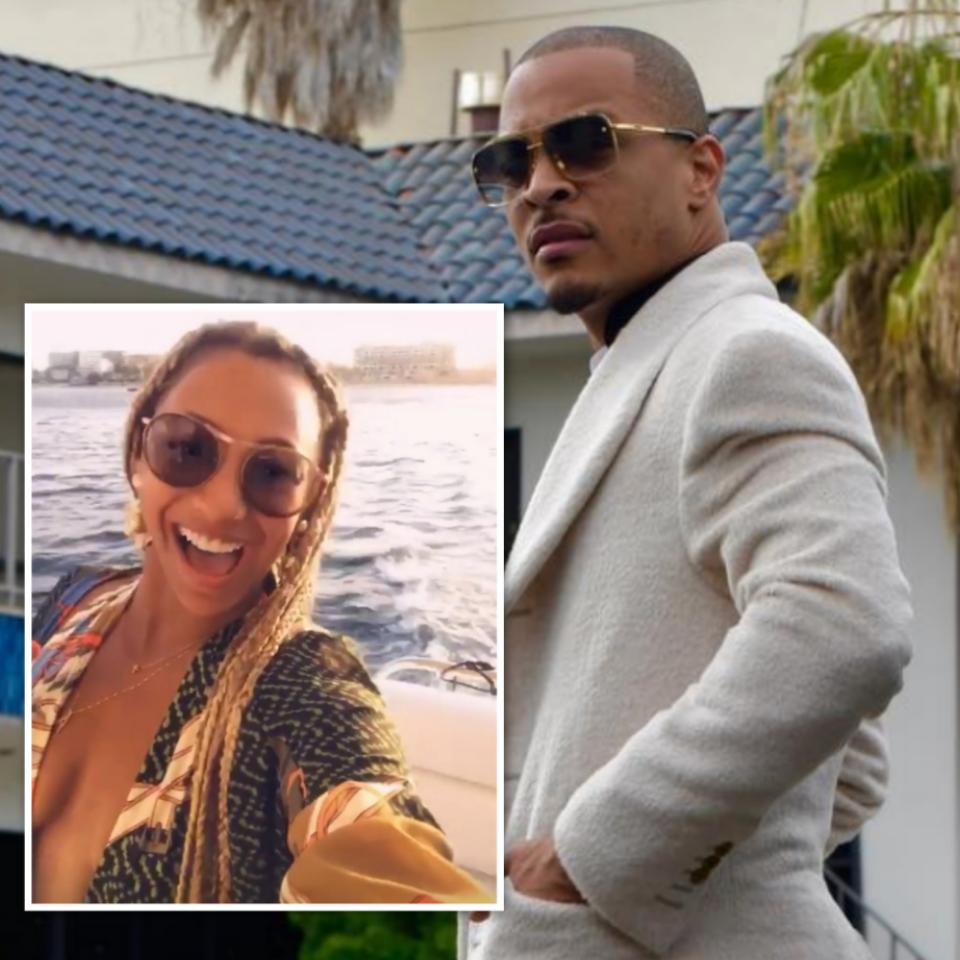 T.I. Caught In Background FaceTiming Sidechick