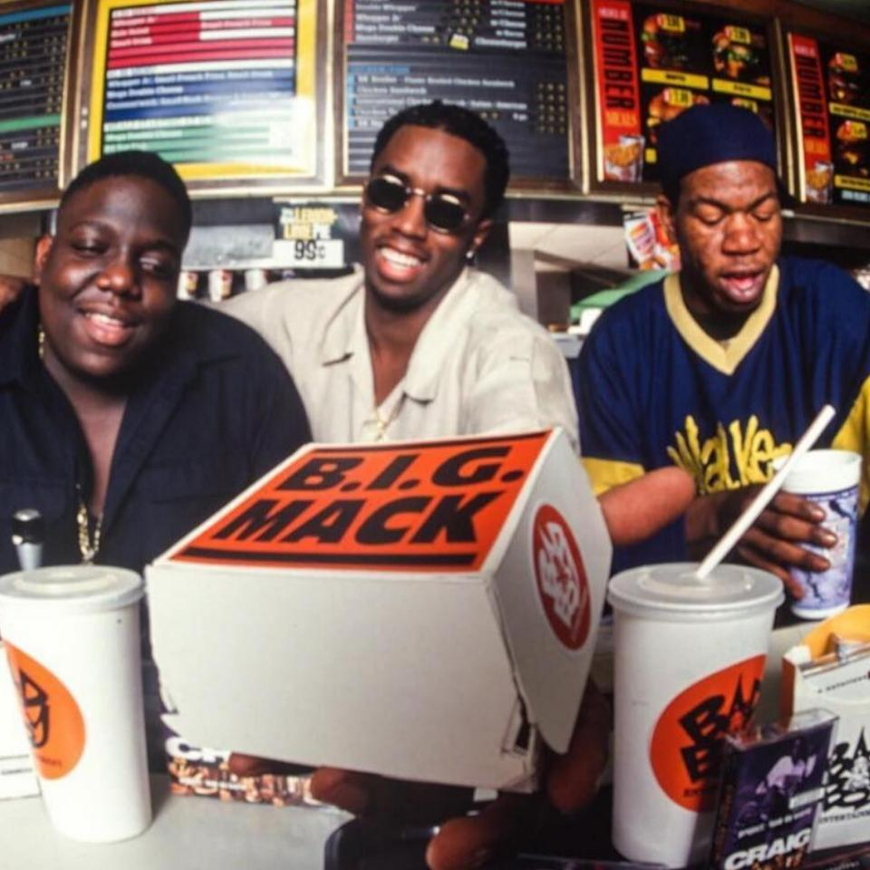 Diddy Throwback Featuring The Notorious B.I.G And Craig Mack
