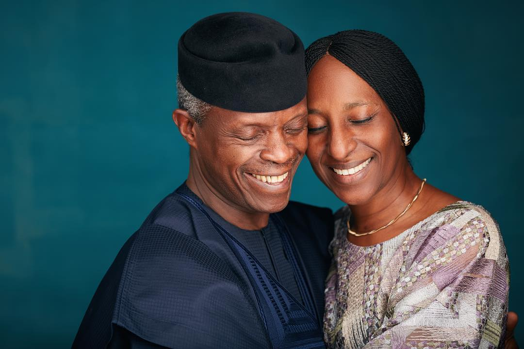 Yemi Osinbajo With Wife Dolapo