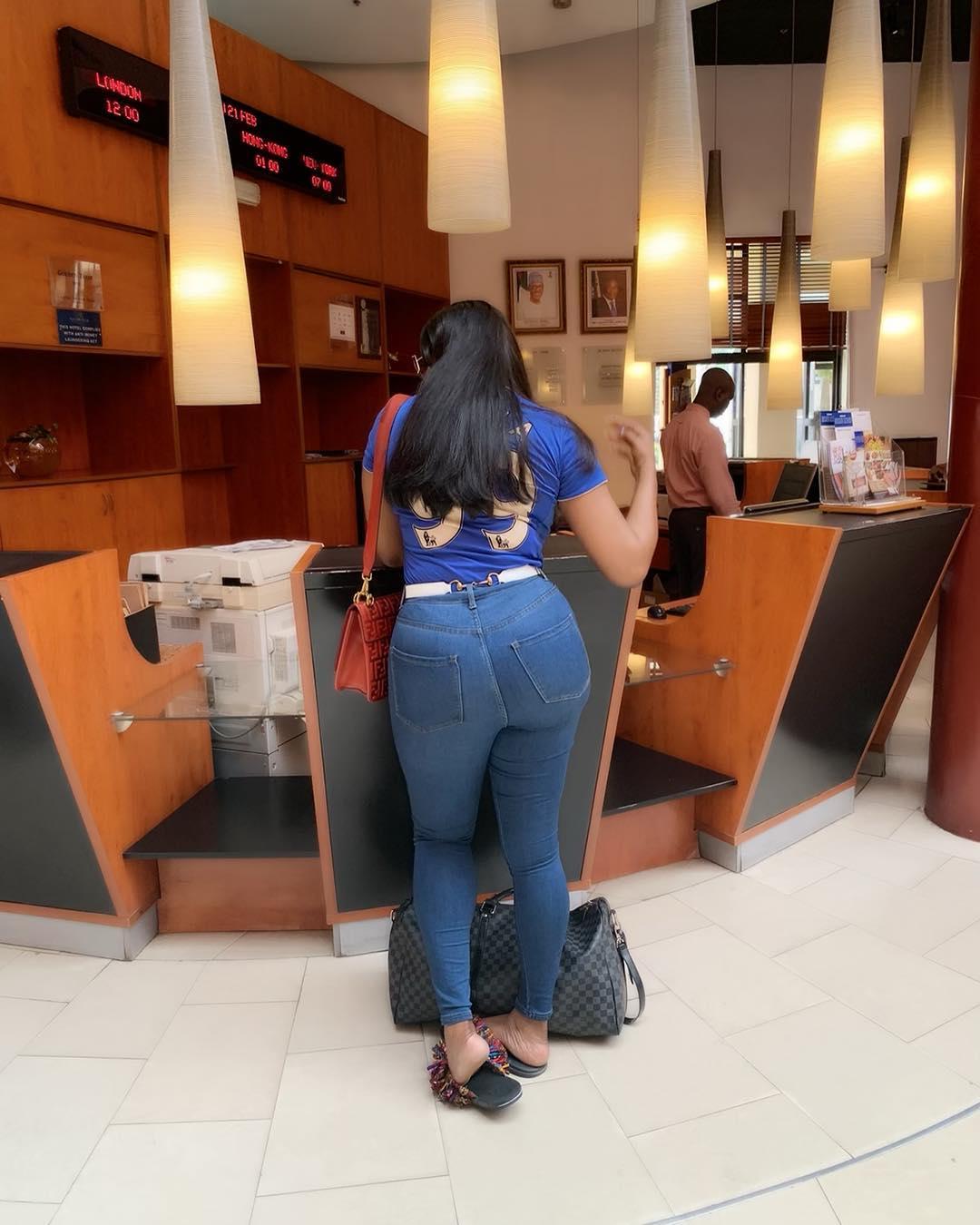 Angela Okorie Customized Chelsea FC Jersey (4)