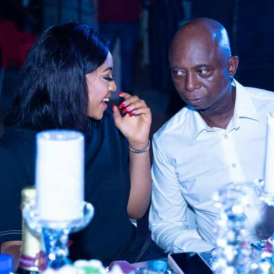 Regina Daniels Pictured With Ned Nwoko And His Adorable Kids