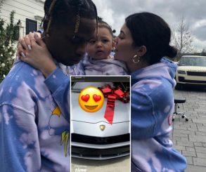 Kylie Jenner Gifts Boyfriend Travis Scott A Lamborghini