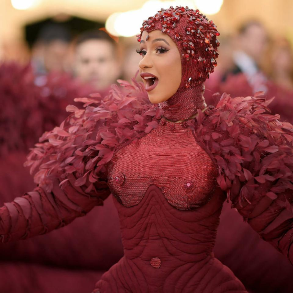 Cardi B Says Her 2019 Met Gala Gown Was Inspired By Feminism