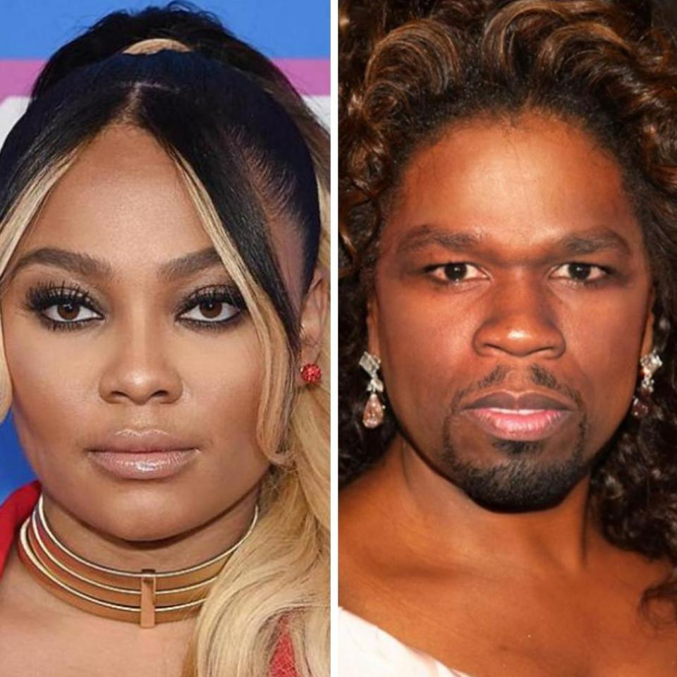 Teairra Mari Trolls 50 Cent For Mother's Day