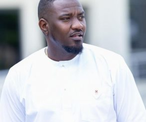 John Dumelo Crying During His White Wedding
