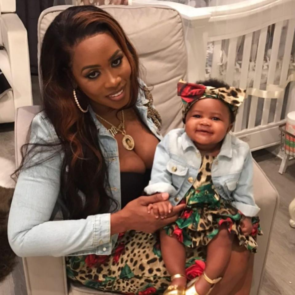 Remy Ma And Daughter MacKenzie Matching Outfits