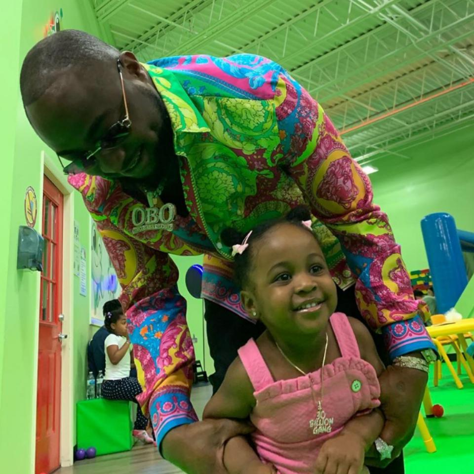 Photo Of Davido And Second Baby Mama Causes Stir