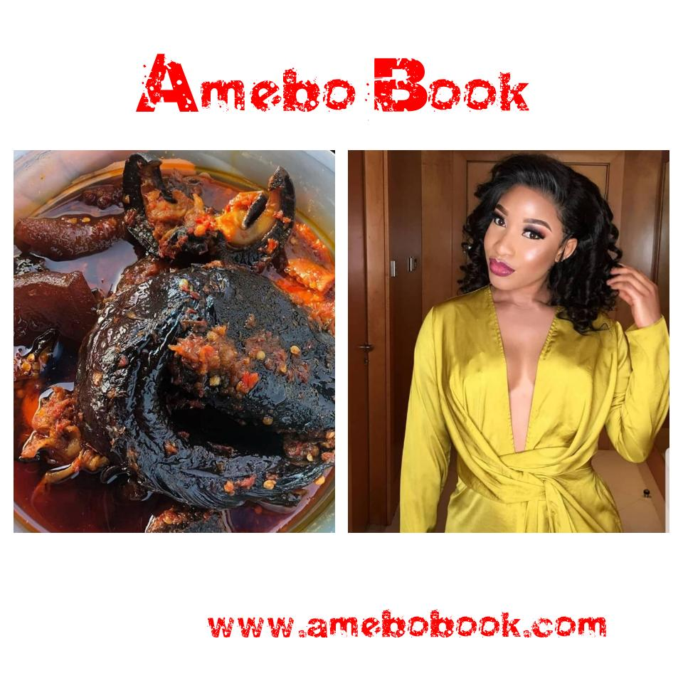 Tonto Dikeh Reveals New Cravings For Food