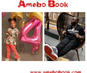 Davido Celebrates Daughter Imade On 4th Birthday
