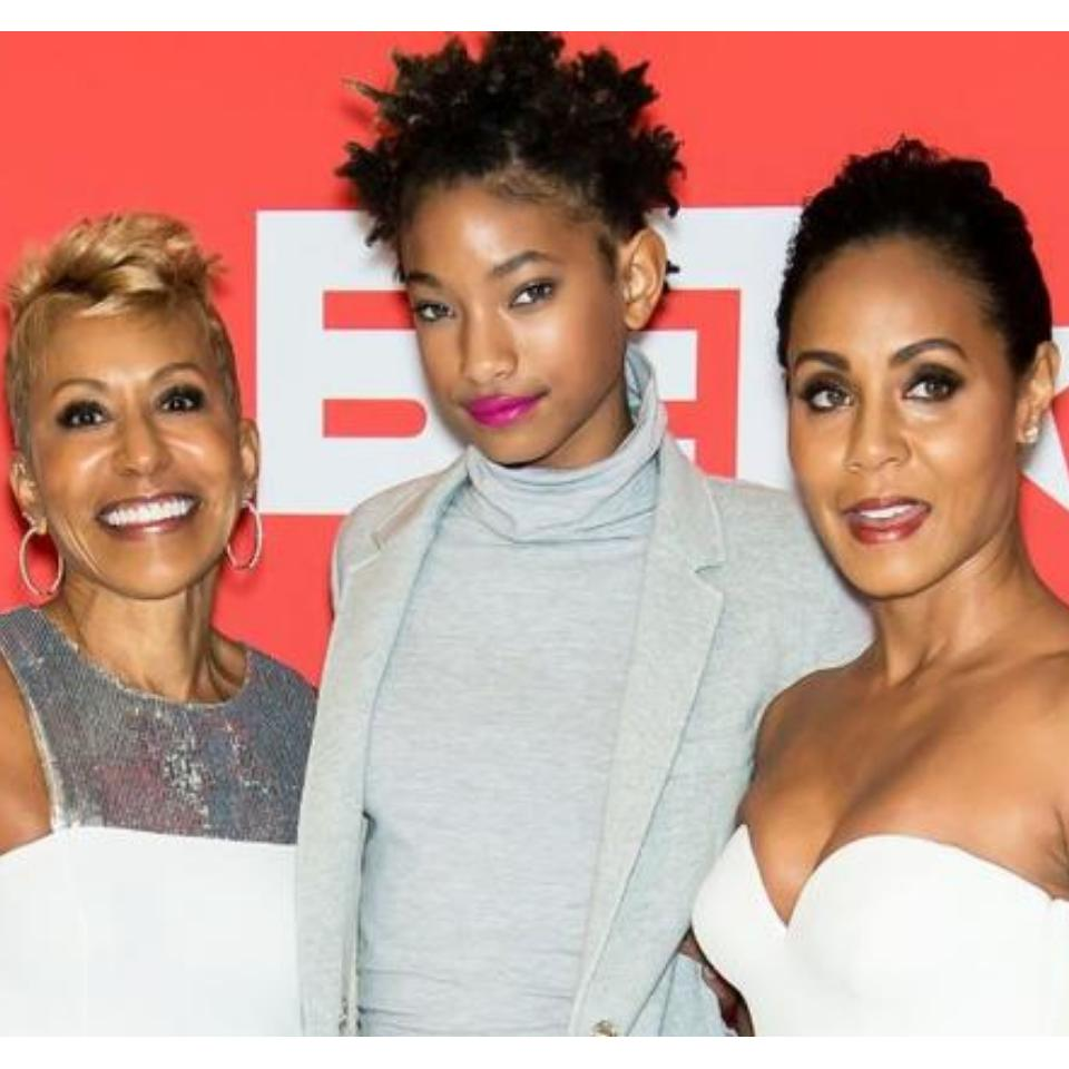 Willow Smith And Adrienne Banfield-Norris Red Table Talk