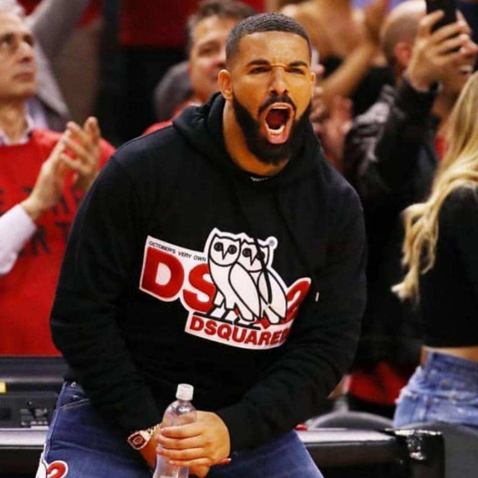 "Entertainment Tonight Celebrity News: Drake Casually Responds To Reports That His Courtside Antics Are ""Disrespectful"""