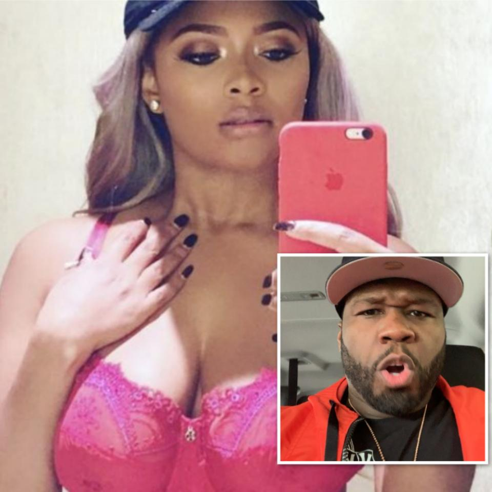Teairra Mari Waves Flag In 50 Cent War