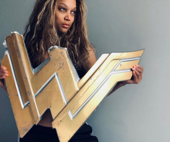 Tyra Banks Channels Wonder Woman With Empowering Message