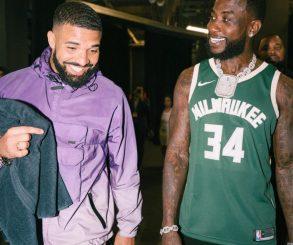 Drake Takes A Shot At Bucks Fan Gucci Mane Following Raptors' Win