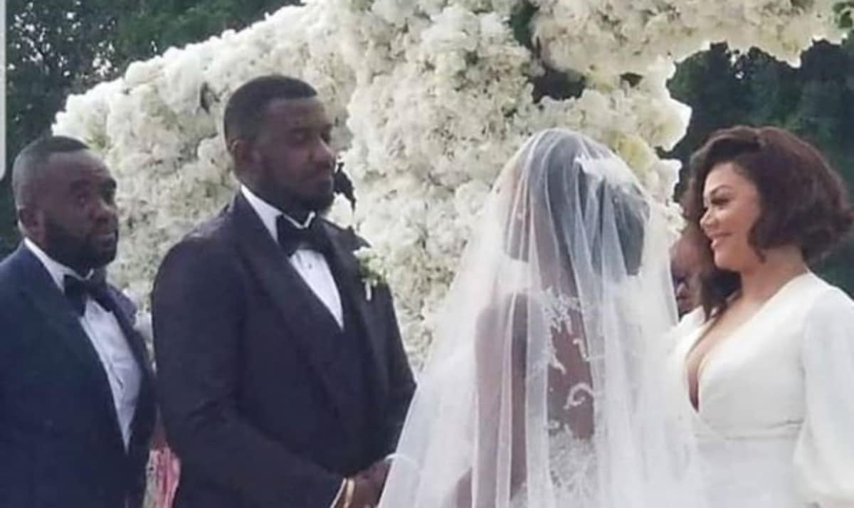 John Dumelo's White Wedding (4)