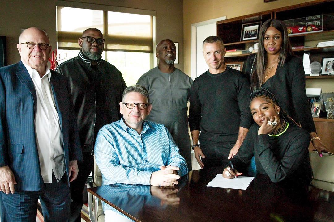 Tiwa Savage Deal With Universal Music Group (2)