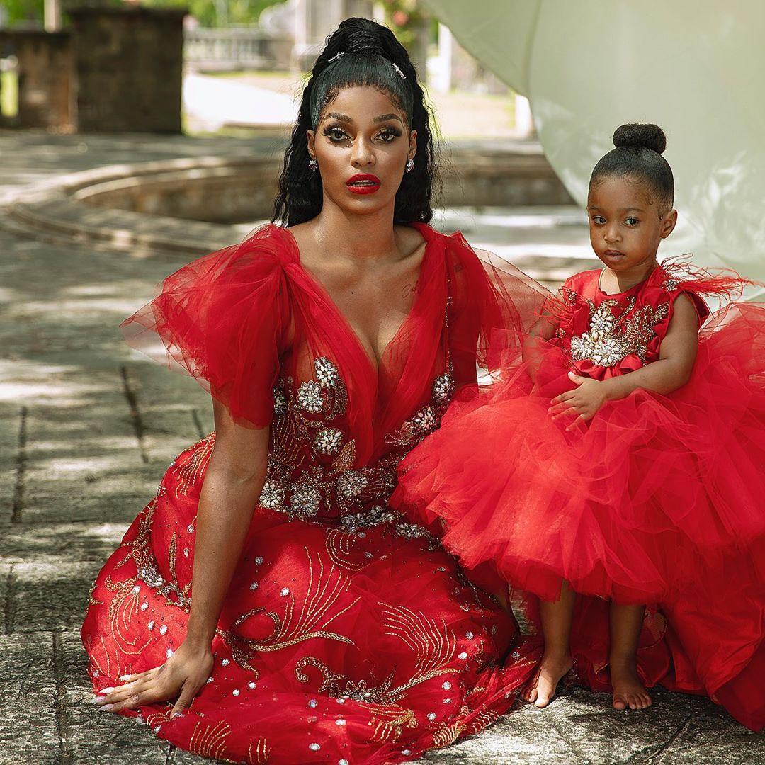 Joseline Hernandez And Daughter Bonnie Bella Cover Alpha Magazine (4)