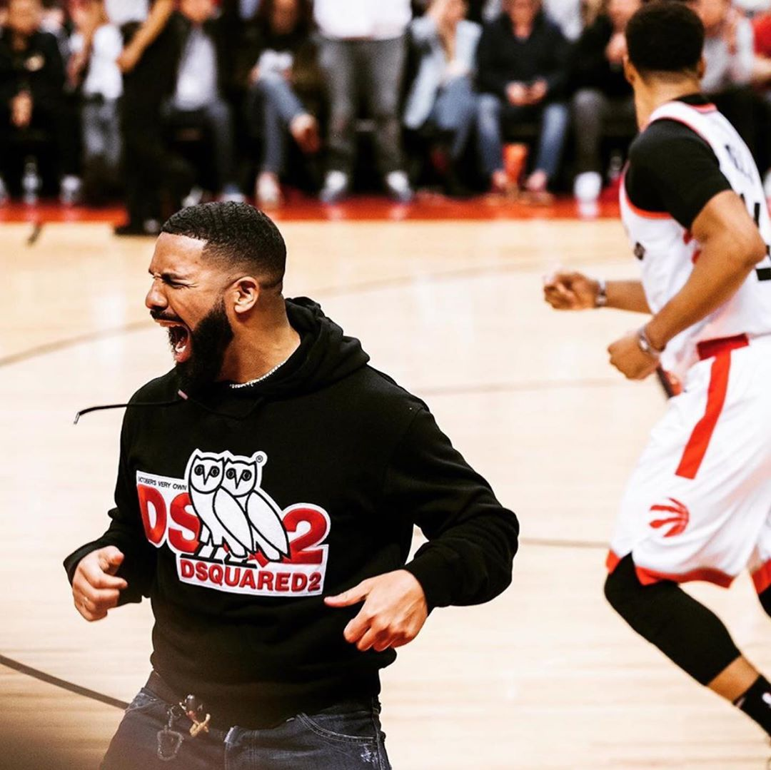 Drake Courtside Antics NBA's Eastern Conference Finals