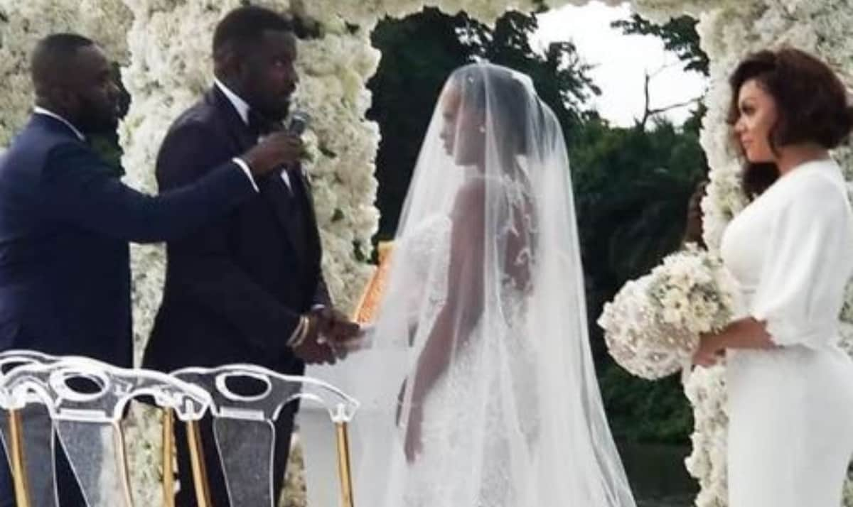 John Dumelo's White Wedding (3)