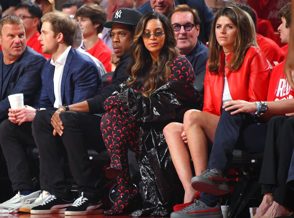 Beyonce New Hair Colour On Date With Jay-Z (2)