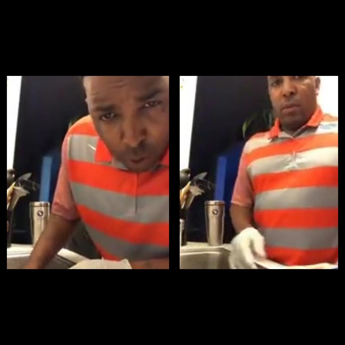 Man Seen Washing Chicken With Dish Washing Liquid