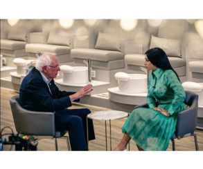 Bernie Sanders Reveals Plans To Become President To Cardi B