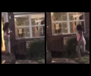 Woman Catches Husband Cheating Then Breaks All Windows