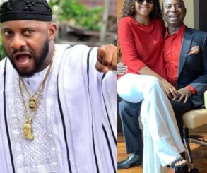 Nigerians Curse Yul Edochie For Supporting Regina Daniels Marriage