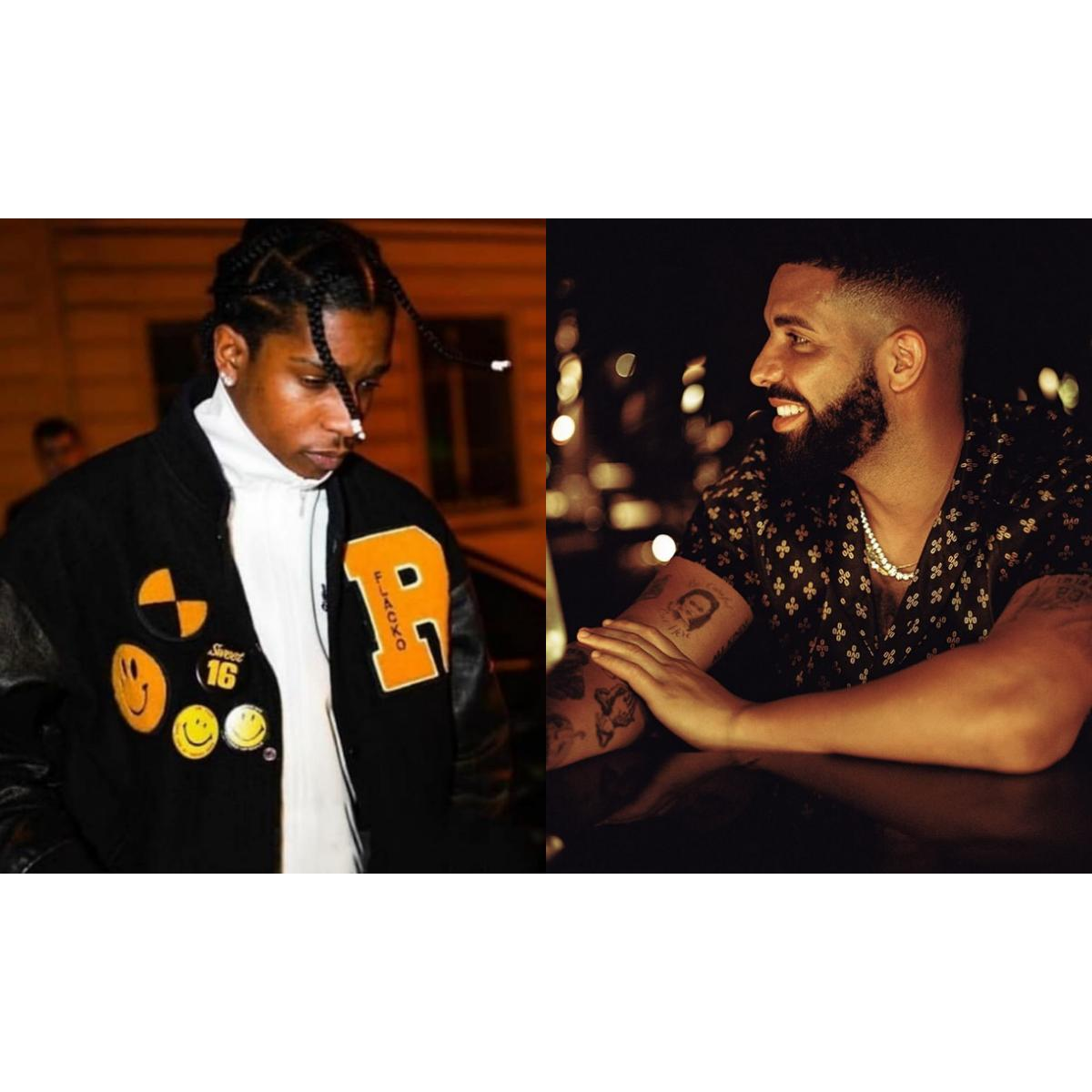 Drake Celebrates A$AP Rocky's Release From Swedish Prison