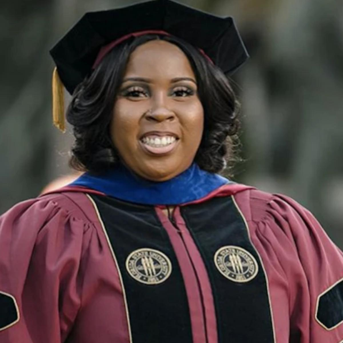 First Black Woman To Earn A PH.D. In Nuclear Physics From FSU