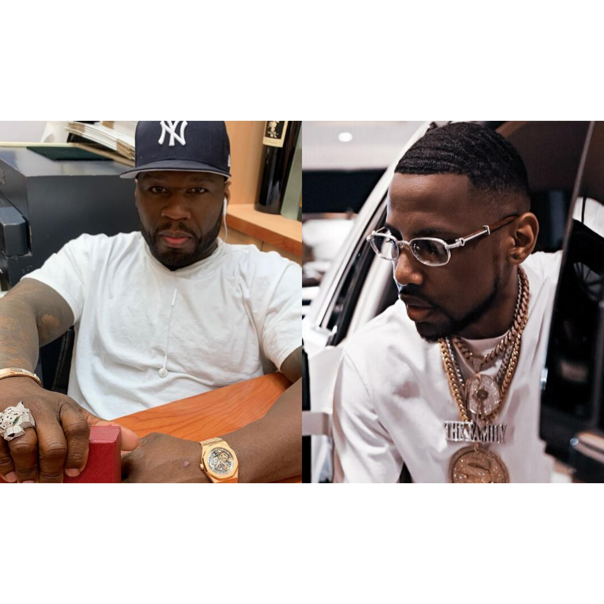 50 Cent Thinks Fabolous Will Steal His Women At His Pool Party