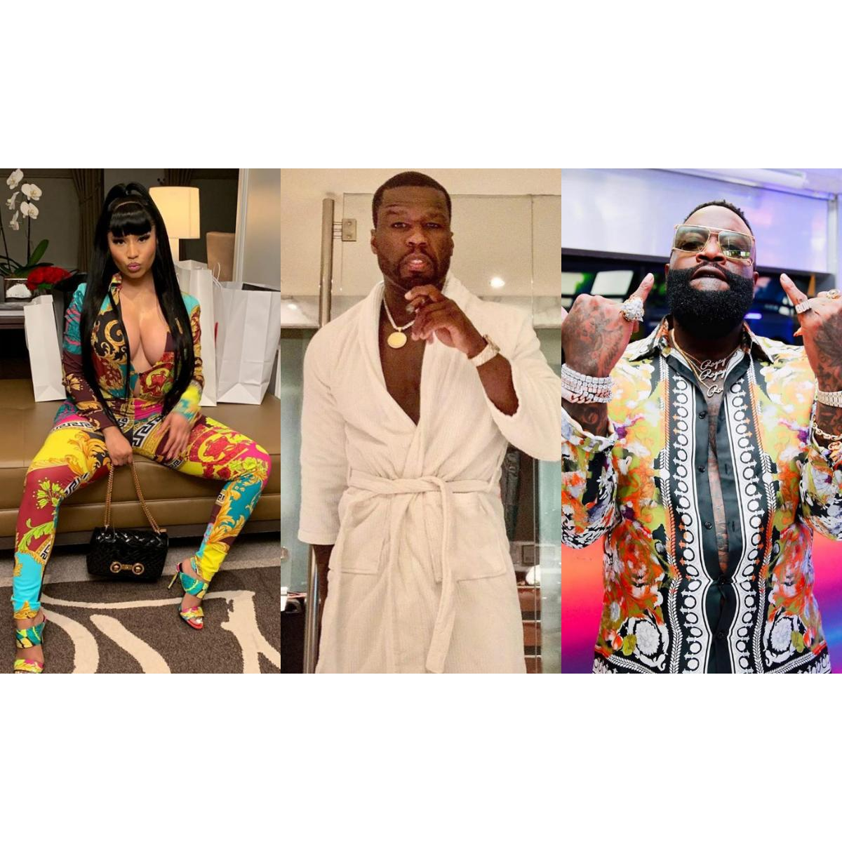 50 Cent Reacts To Nicki Minaj Blasting Rick Ross
