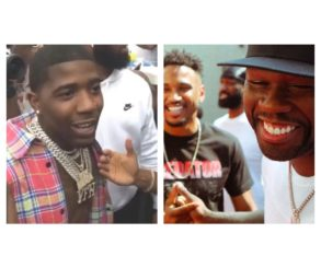 YFN Lucci Embarrasses Trey Songz At 50 Cent's Tycoon Party