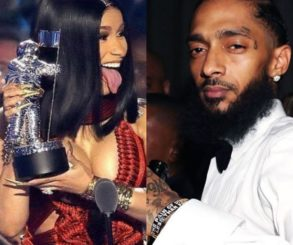 What Nipsey Hussle Told Cardi B After Her Grammy Win