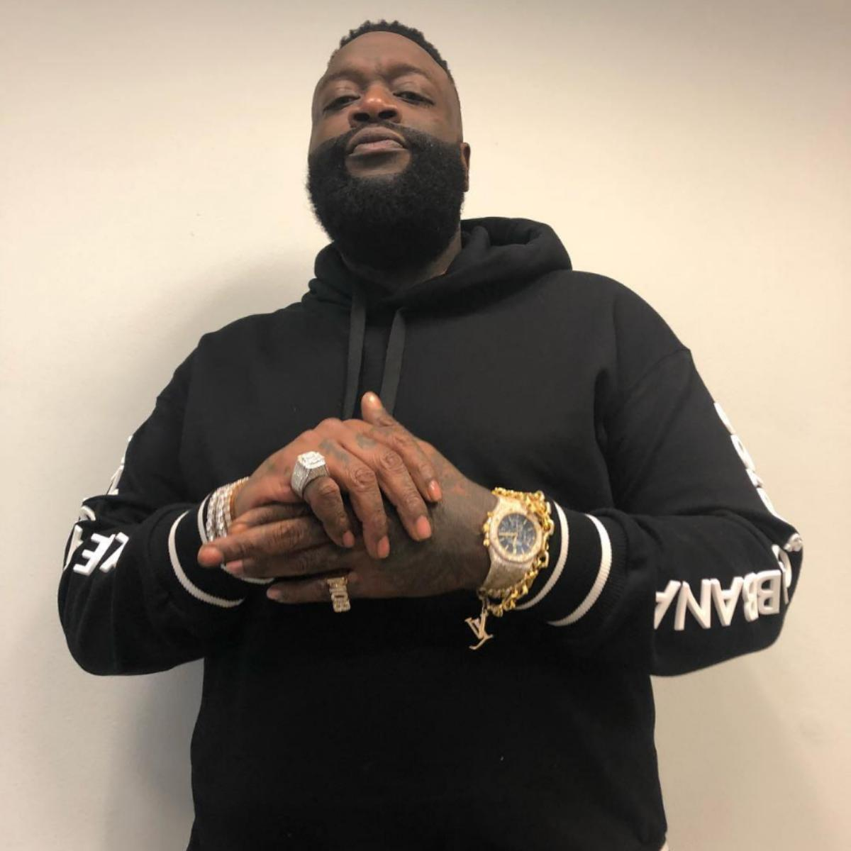 Rick Ross Defected In Bed While With A Woman