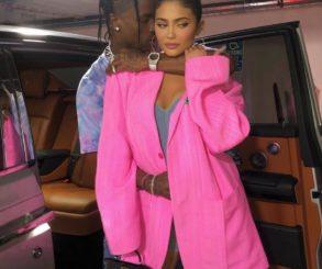 Kylie Jenner With Travis Scott Playboy Shoot